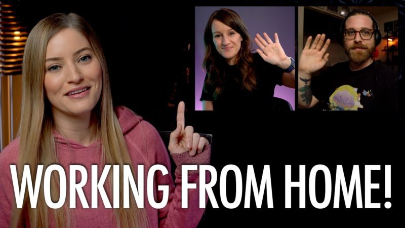 iJustine's – How We Work From Home