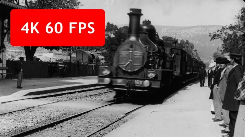 Artist Uses Machine Learning to Upscale a Vintage Video from 1896 to 4K 60fps