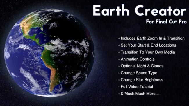 Earth Creator for Apple's Final Cut Pro