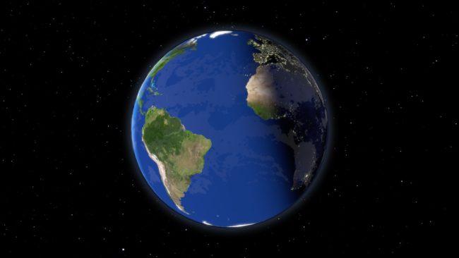 Earth Zoom In - 01