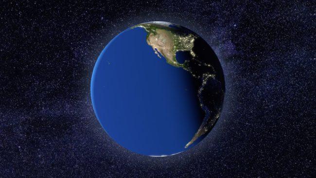 Earth Zoom In - 02