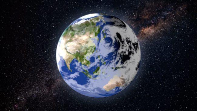 Earth Zoom In - 03