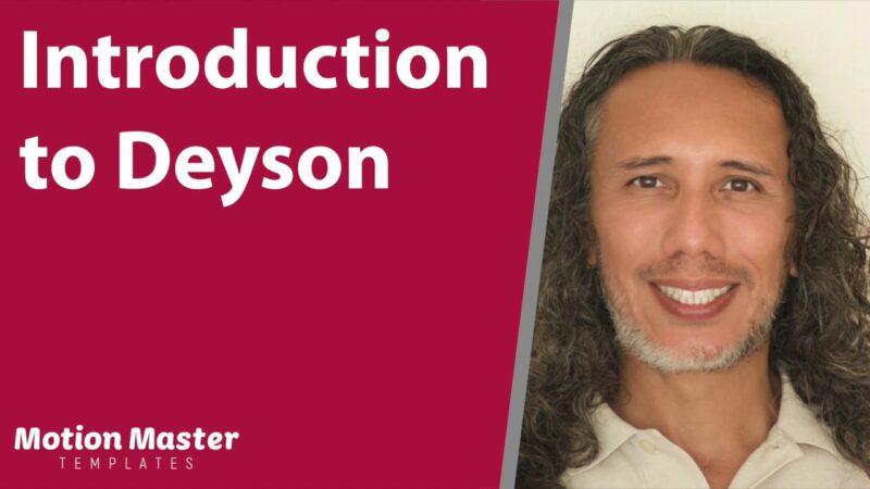 Introduction to Deyson