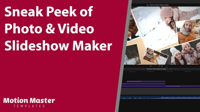 Sneak Peek of Photo & Video Slideshow Maker